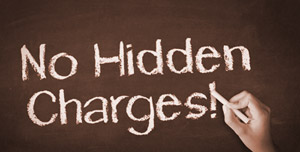 No Hidden Charges or Cost